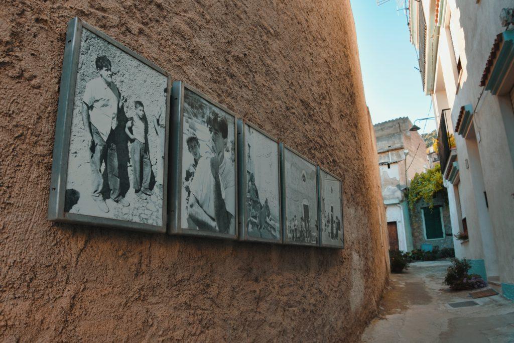 mostra fotografica Nivola