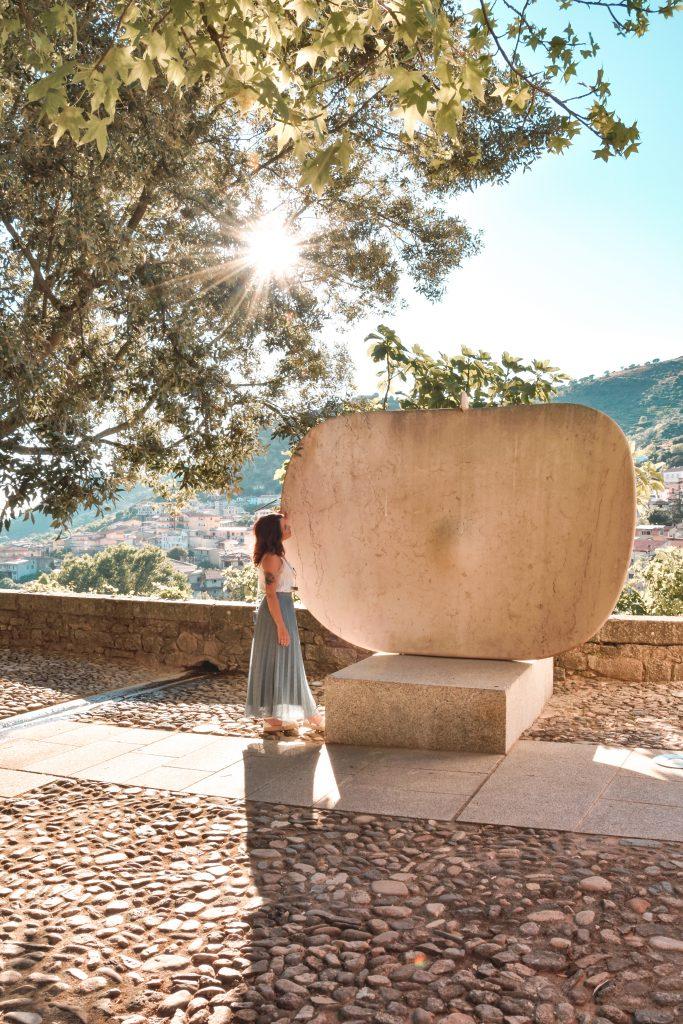 Cortile museo Nivola