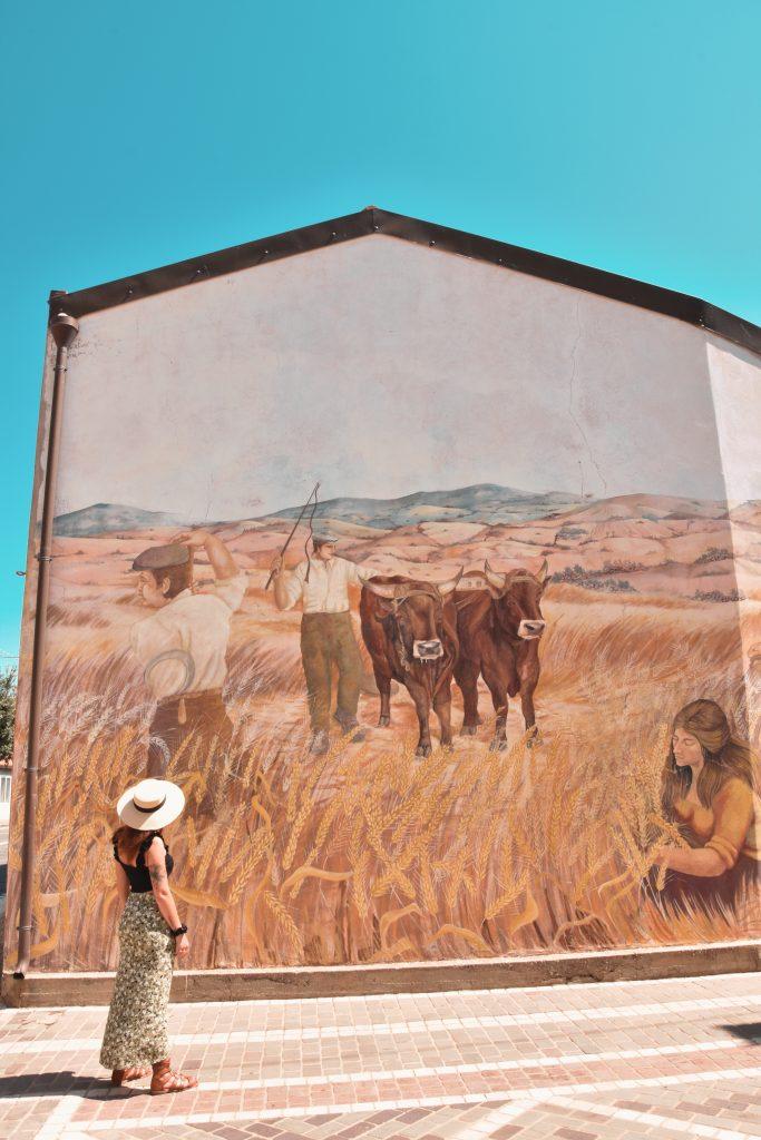 murale mietitura tinnura