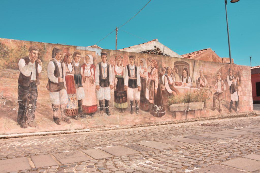 festa tinnura murales