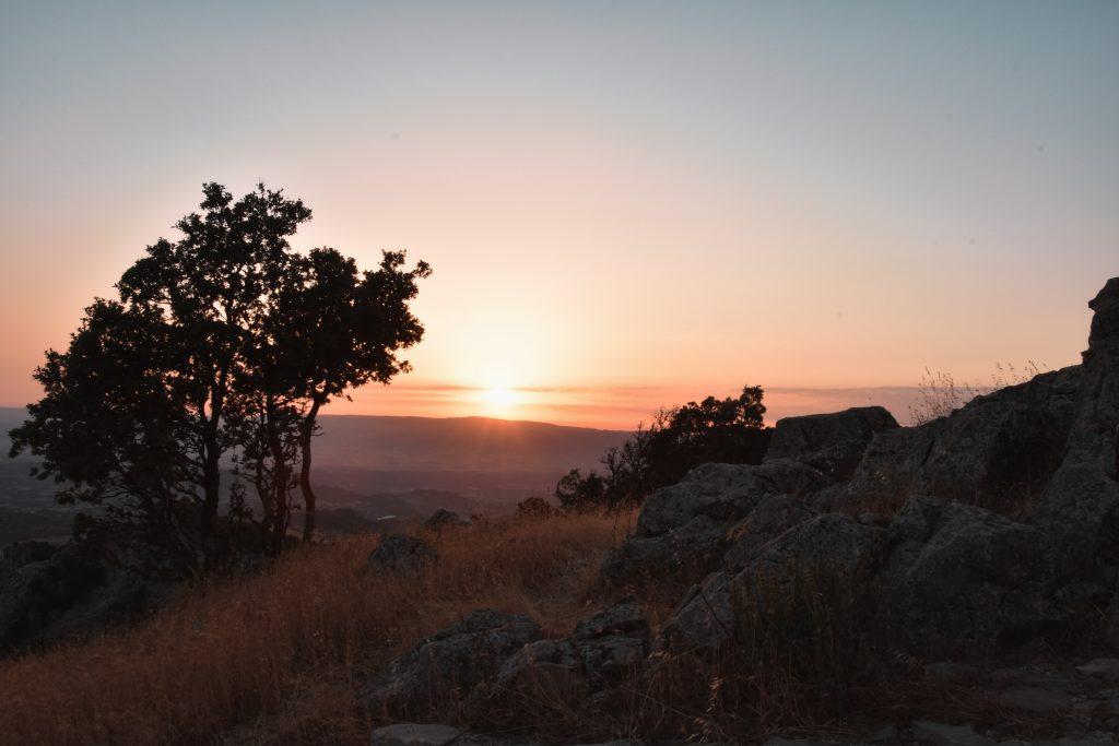tramonto monte gonare