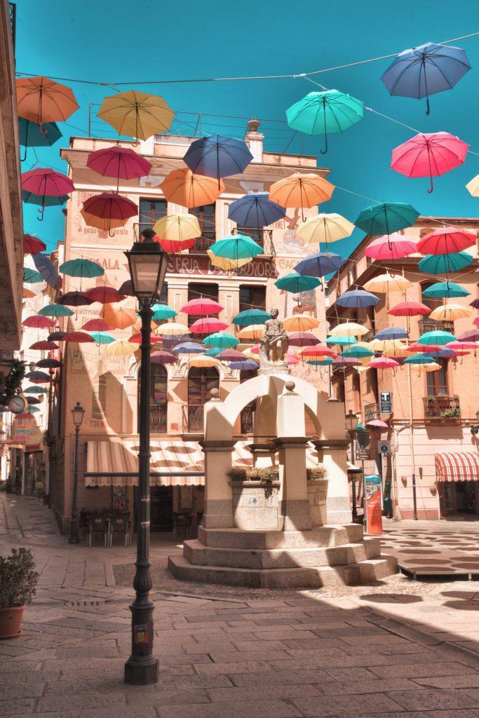piazza lamarmora fontana