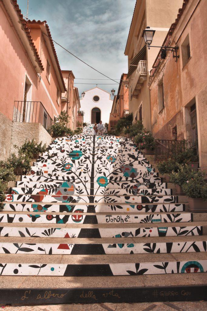 scalinata chiesa di santa lucia